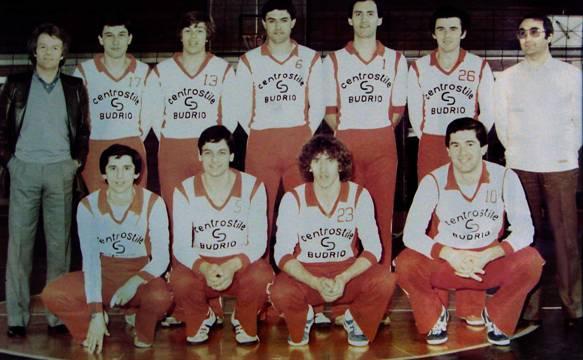 La squadra maschile del 1980-'81 promossa in Serie D. In piedi da sinistra: Gianfranco Zanaboni (direttore sportivo), Nicola Donati, Vanes Cavazza, Luciano Stagni, Fabio Gubellini, Franco Guidotti, Paolo Selleri (allenatore). Accosciati da sinistra: Franco Chiarini, Ferruccio Bonaga, Ivo Monari, Roger Bonazzi.